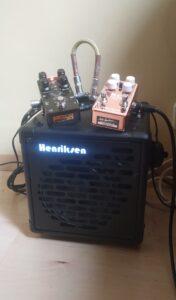 Henriksen amp & gear